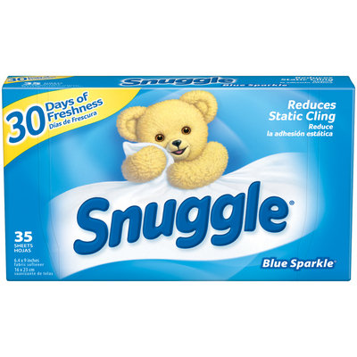 Snuggle® Blue Sparkle® Fabric Softener Dryer Sheets 35 ct Box