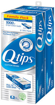 Q-tips® Cotton Swabs 1000 ct. Family Pack