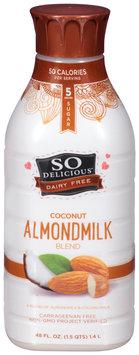 So Delicious™ Dairy Free Coconut Almondmilk Blend 48 fl. oz. Plastic Bottle