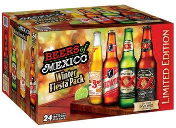 Beers of Mexico Winter Fiesta Pack 24-12 fl. oz. Bottles