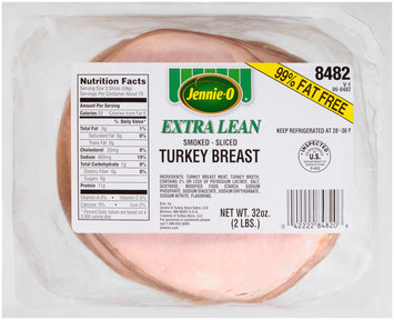 Jennie-O® Extra Lean Smoked Turkey Breast 32 oz. Packet