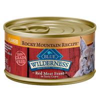 THE BLUE BUFFALO CO. BLUE™ Wilderness® Rocky Mountain Recipe™ Flaked Red Meat Feast For Adult Cats