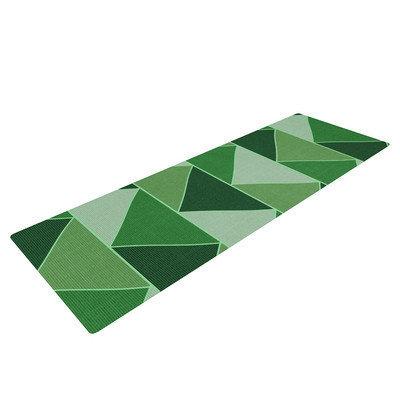 Kess Inhouse Emerald City by Catherine McDonald Yoga Mat