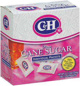 C&H Pure Cane Sugar Individual Packets 100 ct Box