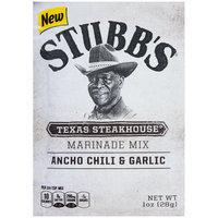 Stubb's® Texas Steakhouse® Marinade Mix 1 oz. Pouch