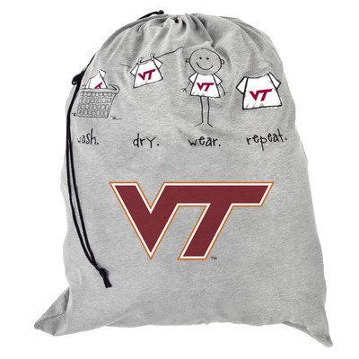 Forever Collectibles NCAA Laundry Bag NCAA Team: Virginia Tech