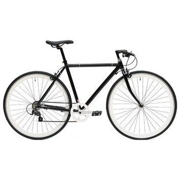 Ideacycle C8 Gear Road Bike Size: 43cm, Color: Black