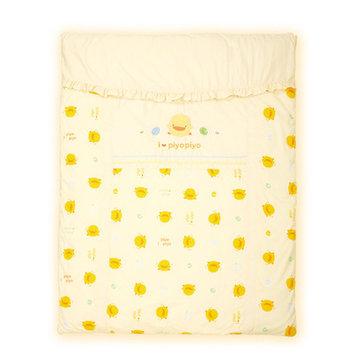 Piyo Piyo Four Piece Cradle Bedding Set in Yellow