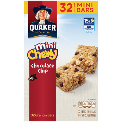 Quaker® Chewy Mini Chocolate Chip Granola Bars