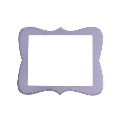 Secretly Designed Chase Frame Size: 16x20, Color: Lavender