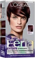 L'Oréal® Paris Feria® Rebel Chic 22 Deep Burgundy Hair Color 1 Kit Box
