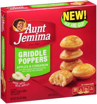 Aunt Jemima® Apples & Cinnamon Griddle Poppers™ 10.6 oz. Box