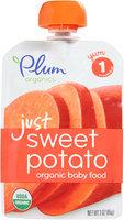 Plum Organics™ Stage 1 Just Sweet Potato Organic Baby Food 3 oz. Pouch