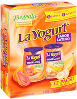 La Yogurt® Probiotic Sabor Latino Variety Pack Papaya/Banana Blended Lowfat Yogurt 12-6 oz. Cups