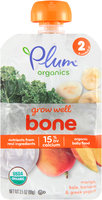 Plum® Organics Grow Well™ Bone Organic Baby Food 3.5 oz. Pouch