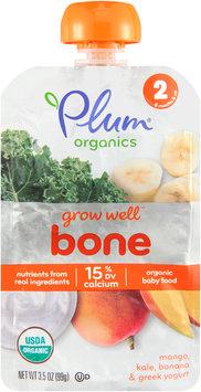 Plum® Organics Grow Well™ Bone Organic Baby Food 3.5 oz. Pouch