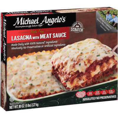 Michael Angelo's® Lasagna with Meat Sauce