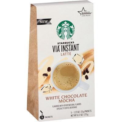STARBUCKS® VIA® Instant Latte White Chocolate Mocha