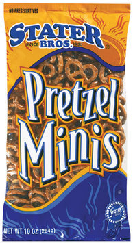 Stater Bros.  Pretzel Minis 10 Oz Bag