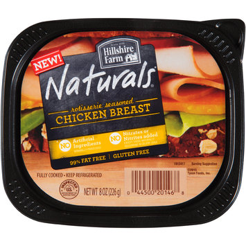 Hillshire Farm Naturals® Rotisserie Seasoned Chicken Breast 8 oz. Tub