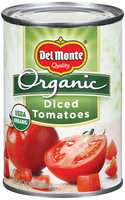 Del Monte Organic Diced Tomatoes 14.5 oz. Can