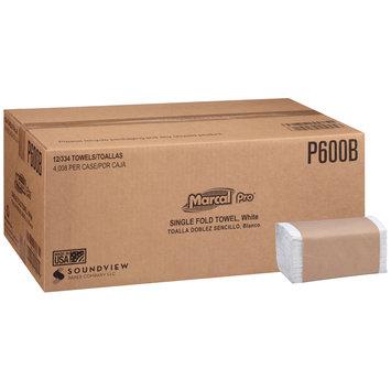 Marcal Pro-Putney White Single Fold Towel 12-334 ct Sleeves