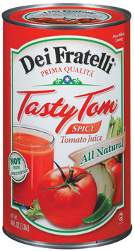 Dei Fratelli Tasty Tom Spicy Tomato Juice 46 Fl Oz Can