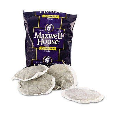 Marjack Circular Filter Packs, Regular Coffee, 1.2 oz Packets, 42/CT
