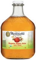 Martinelli's Gold Medal® 100% Organic Apple Juice 50.7 Oz Glass Bottle