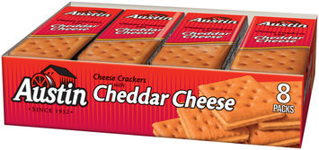 Austin® Cheese Crackers with Cheddar Cheese 8-1.38 oz. Package