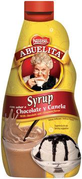 Nestlé ABUELITA Chocolate Cinnamon Syrup, 12 - 16 oz. Bottles