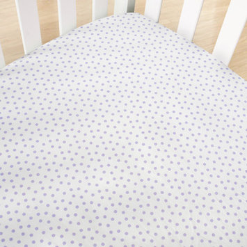 Cocalo Violet Dottie Crib Fitted Sheet