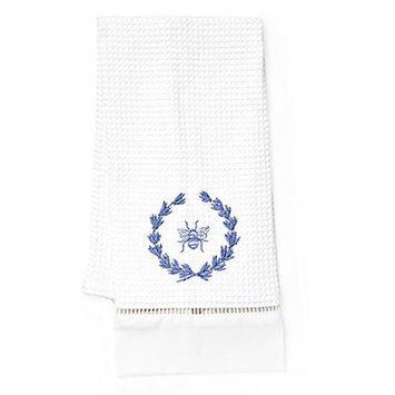 Jacaranda Living Bee Wreath Hand Towel Color: Blue