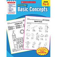 Scholastics Teacher Scholastic 978-0-545-20093-6 Scholastic Success with Basic Concepts