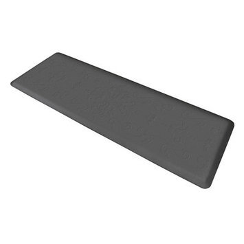Wellness Mat Llc Wellness Mats Motif ME62WMR Entwine Anti Fatigue Mat Grey