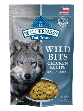 THE BLUE BUFFALO CO. BLUE™ Wilderness Trail Treats® Chicken Wild Bits™ Grain-Free Dog Training Treats
