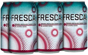 Fresca Black Cherry Soda 12 oz 6 pk Cans