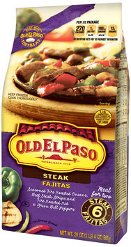 Old El Paso® Steak Fajitas 20 oz. Bag