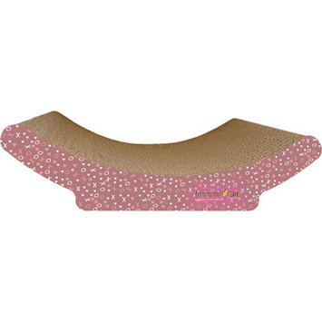 Imperial Cat Cozy Curl Recycled Paper Cat Scratching Board Pattern: Valentine C