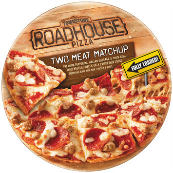tombstone roadhouse two meat matchup pizza