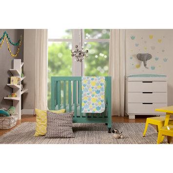 babyletto Tulip Garden 4-Piece Mini Crib Bedding Set - T11430