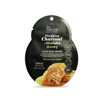 By Nature™ Purifying Charcoal + Manuka Honey Clay Face Mask