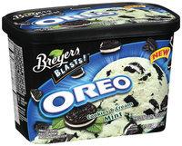 Breyers Oreo Cookies & Cream Mint Frozen Dairy Dessert