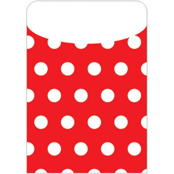 Top Notch Teacher Products Brite Pockets Polka Dots 35 per Bag