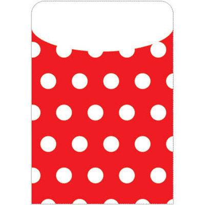 Top Notch Teacher Products Brite Pockets Polka Dots 35 per Bag