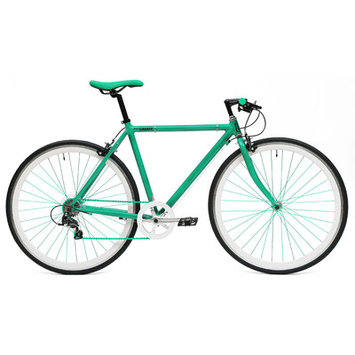 Ideacycle C8 Gear Road Bike Size: 43cm, Color: Green