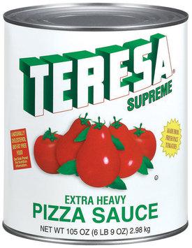 Teresa Extra Heavy Pizza Sauce 105 Oz Can