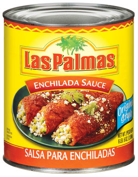 Las Palmas Original Style Enchilada Sauce 102 Oz Can