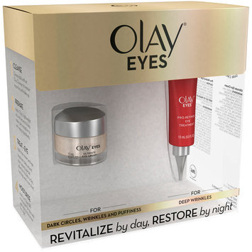 Eyes Olay Eyes Day & Night Duo Pack-Ultimate Eye Cream & Pro-Retinol Eye Treatment