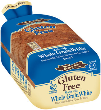 Better Way® Gluten Free Whole Grain White Bread 18 oz. Loaf